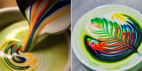 This Is Not a Drill: Rainbow Coffee Exists and It Is Magical AF