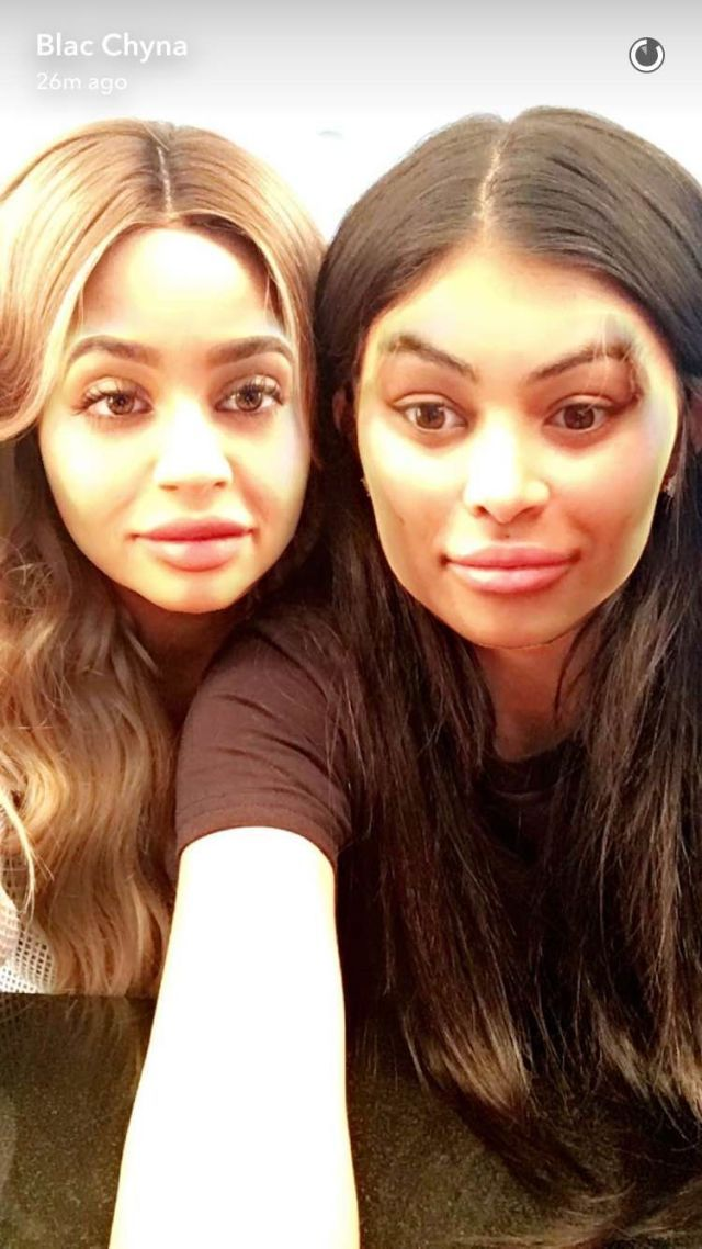 Blac Chyna and Kylie Jenner Are Hanging Out