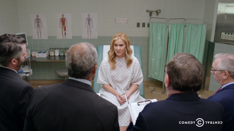 Amy Schumer Hilariously Tackles a Very Depressing Problem With Women's Health Care