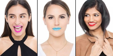 4 Women Wore Insanely Bold Lip Colors for 5 Days and Here's What Happened