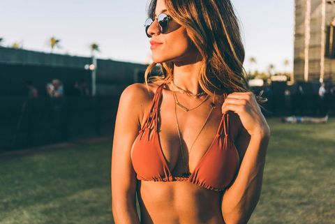 Eyewear, Vision care, Glasses, Hairstyle, Photograph, Sunglasses, Brassiere, Summer, Earrings, Goggles,