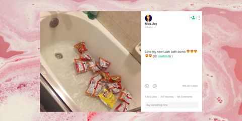 The 10 Funniest Lush Bath Bomb Memes