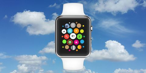 Blue, Product, Display device, Cloud, Electronic device, Watch, Technology, Gadget, Cumulus, Colorfulness,