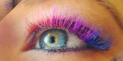 2ef74ec6a5b Rainbow Eyelash Trend — How to Get Rainbow Lashes