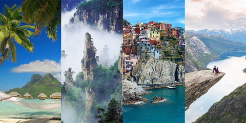 22 Unreal Destinations That Will Make You Want to Take a Gap Year