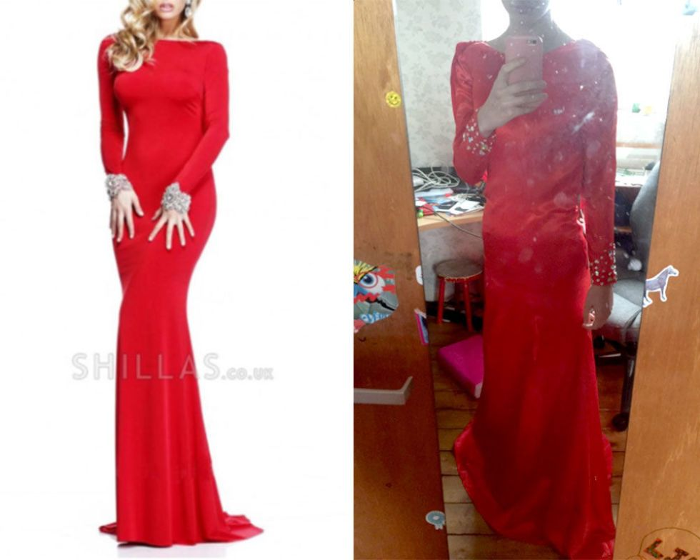 Cheap online formal dress disasters