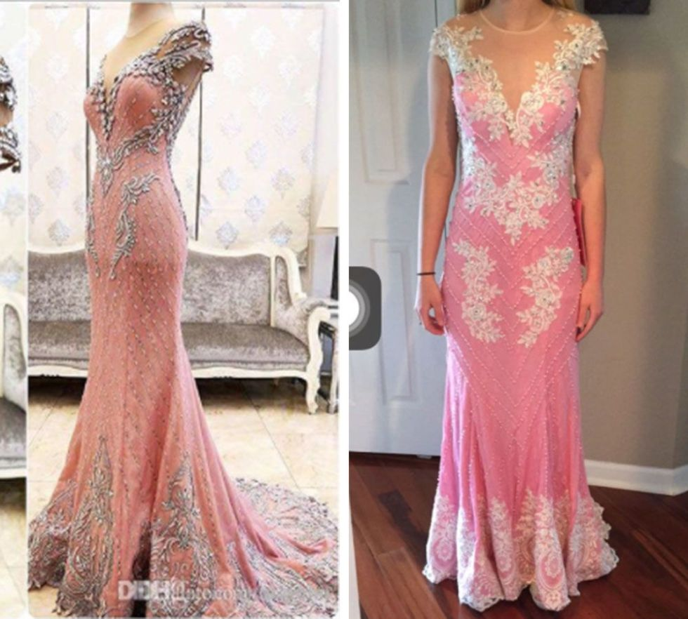 Online Prom Dress Fails