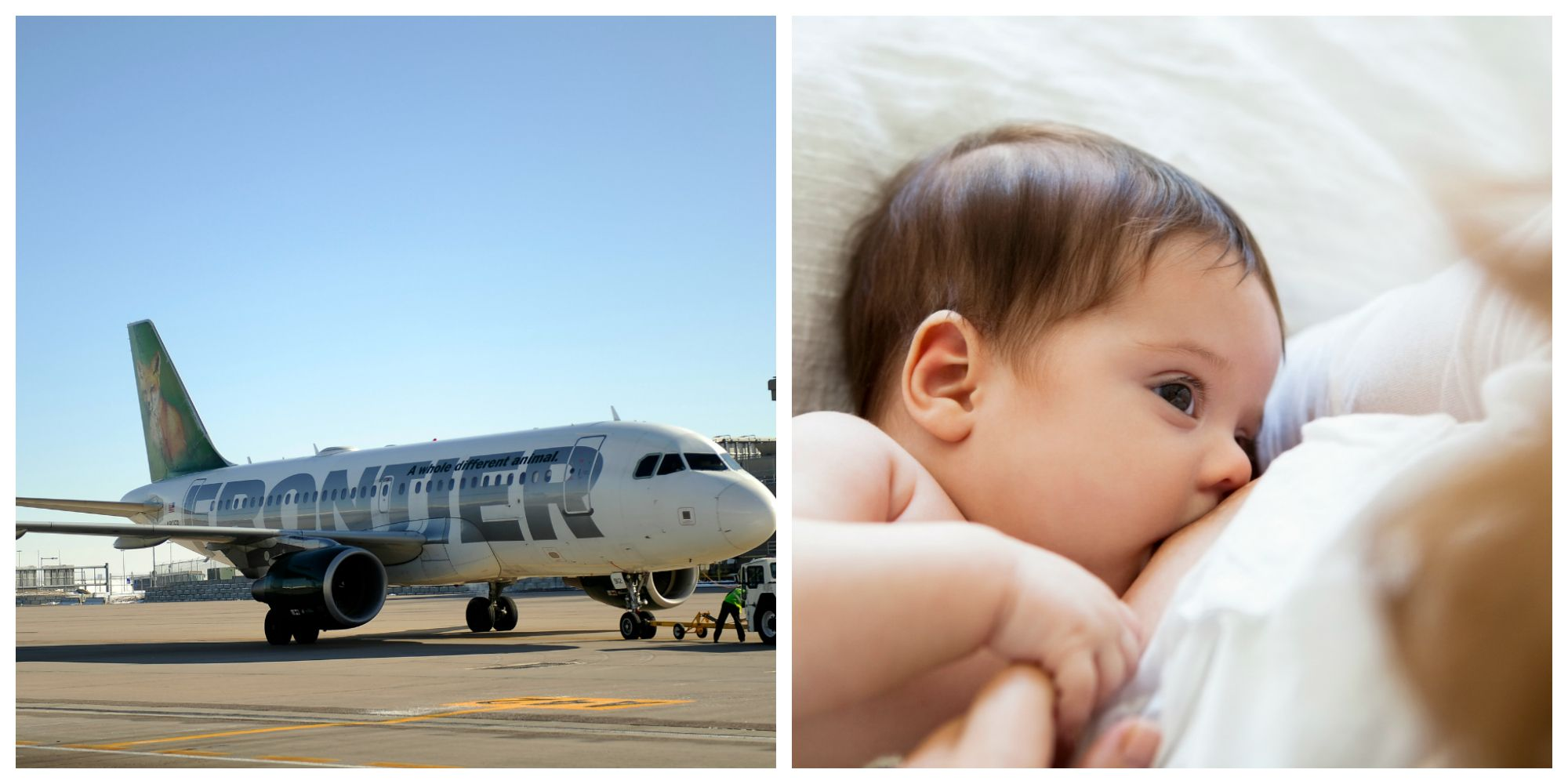 Aclu Says Frontier Airlines Discriminates Against Pregnant And Breastfeeding Women Four Pilots Are Filing Charges Against The Airline
