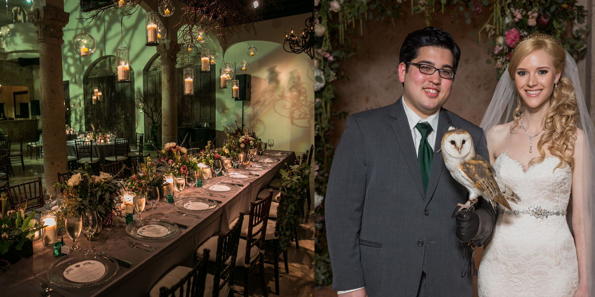 Elegant Harry Potter Themed Wedding