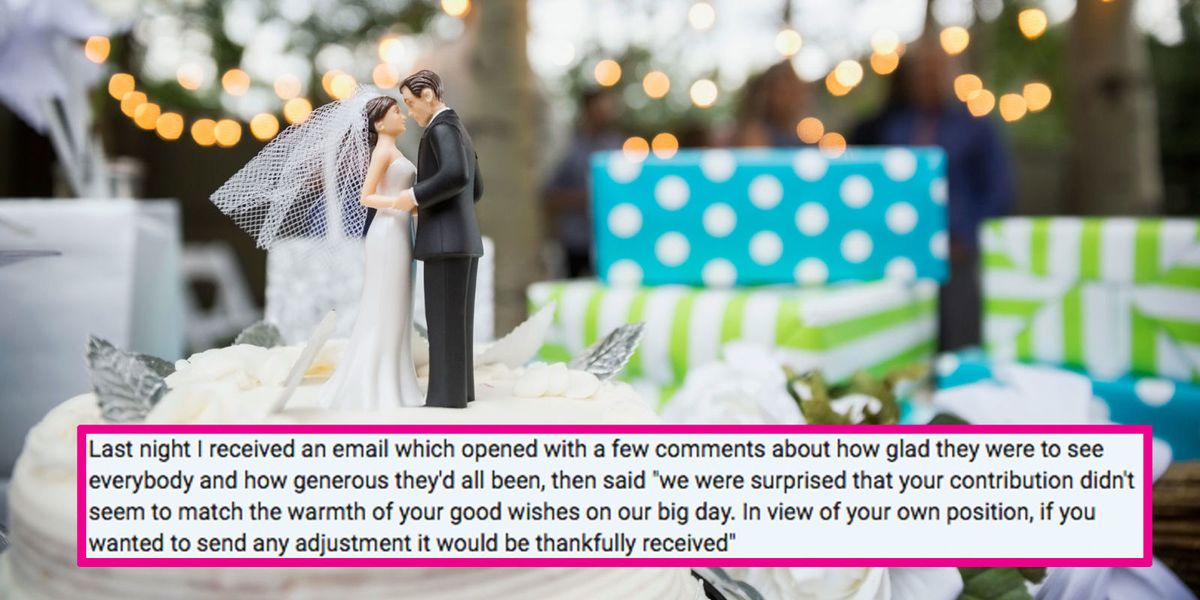 Please Help This Woman Decide How To Respond To A Brides Absurdly