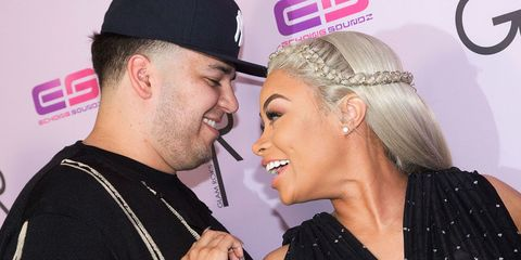 Rob Kardashian Expresses His Love for Blac Chyna With a Giant Airplane Banner