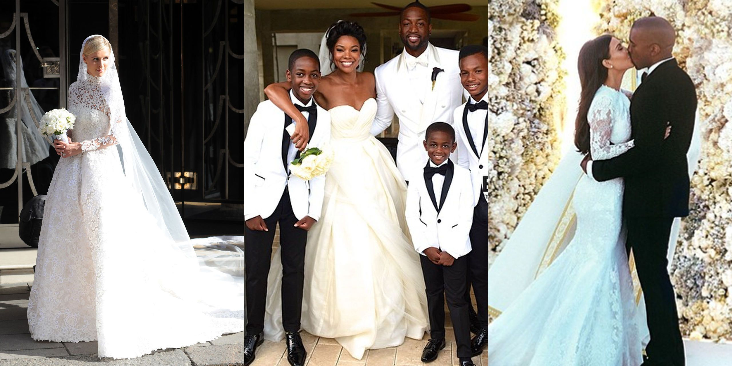 The 18 Best Celebrity Wedding Dresses We've Ever Seen