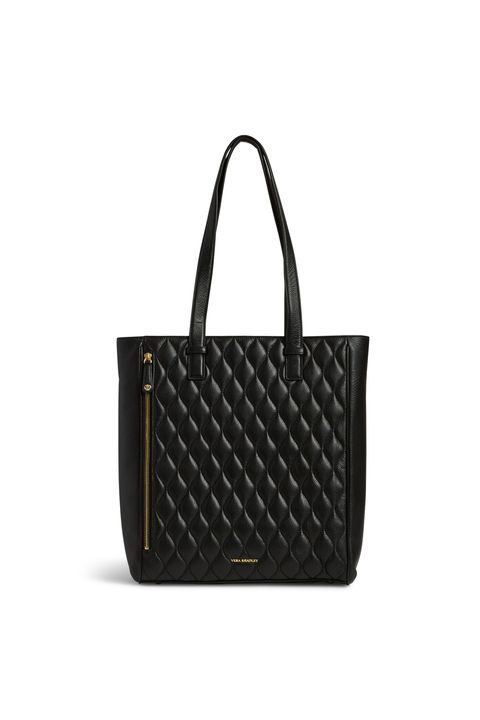 """<p>Upgrade your backpack to a ladylike tote, which holds everything from your laptop to after-work gym clothes to last night's leftovers (aka tomorrow's lunch). It zips shut too, so you won't have to worry about everything spilling out if it accidentally tips over. <a href=""""https://ad.doubleclick.net/ddm/clk/304834733&#x3B;132203969&#x3B;f""""><em>Quilted Leah Tote</em></a><em>, <em>VERA BRADLEY, </em>$278 </em></p>"""