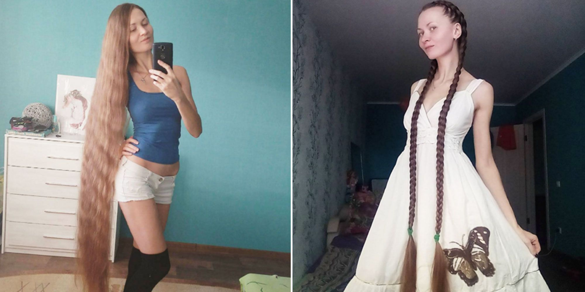 Move Over, Human Barbie: The Real Rapunzel Is Here
