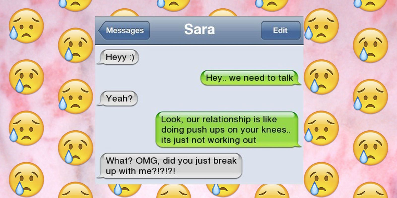 Hookup etiquette how to break up