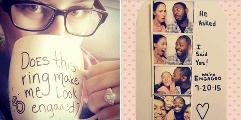 10 Cutest Instagram Engagement Announcements Ever