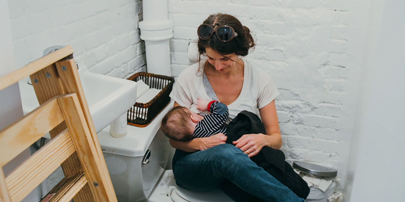 These Photos Show Exactly Where Women End Up Breastfeeding
