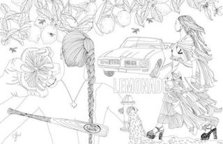 This Illustrator Turned Beyonces Lemonade Into A Coloring Book