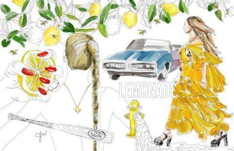 this illustrator turned beyonc s lemonade into a coloring book rh cosmopolitan com Beyonce Lemonade Album Beyonce Lemonade Booklet