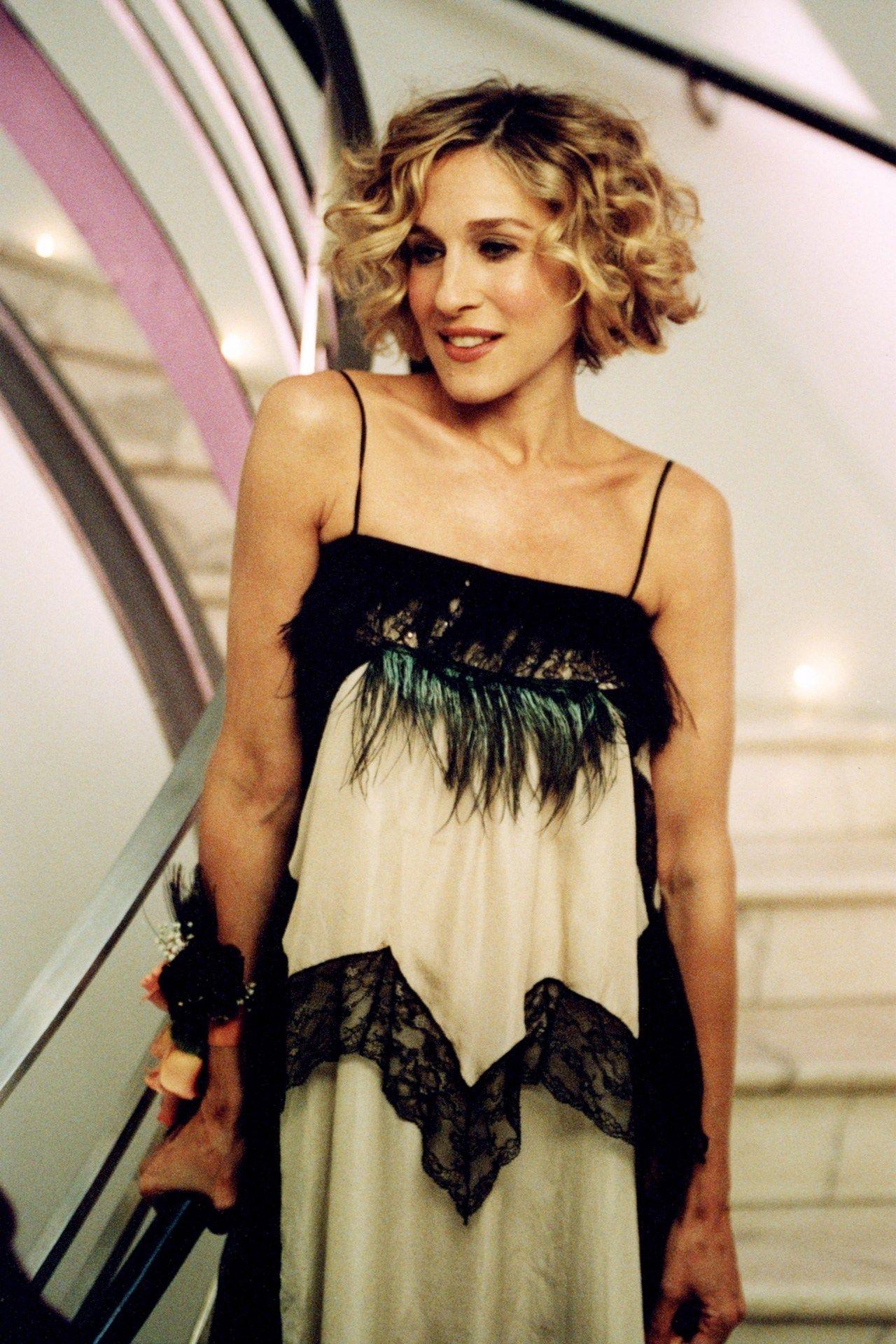 Astounding Carrie Bradshaw Fashion Moments Best Carrie Bradshaw Fashion Hairstyles For Men Maxibearus
