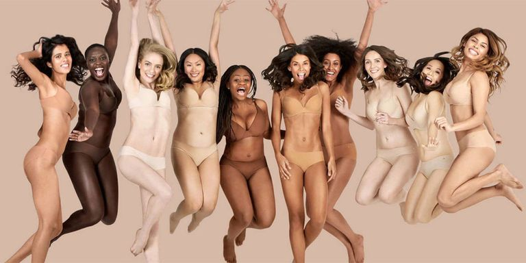 "Finally, a Lingerie Collection for ALL Shades of ""Nude"""
