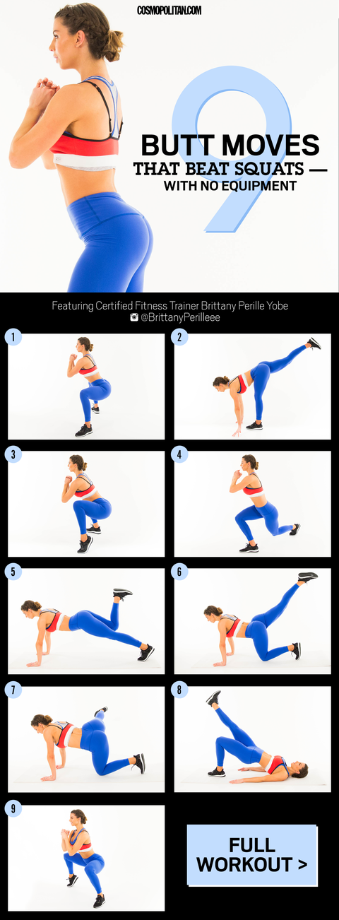 Best Butt Workouts - 9 Butt And Booty Exercises For Firmer -3751