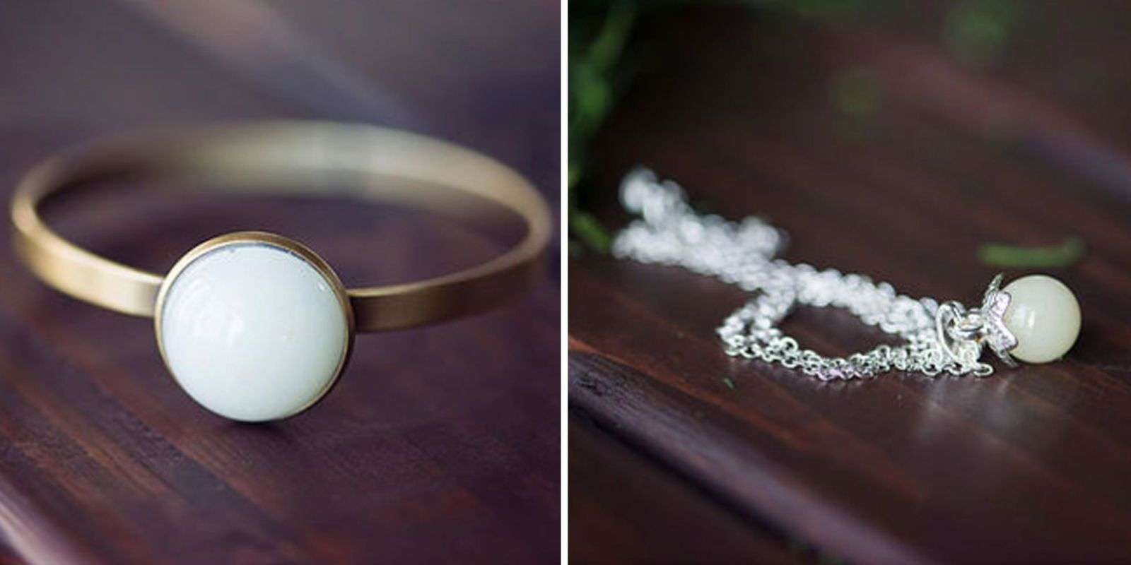 You Can Now Get Jewelry Keepsakes Made From Breast Milk