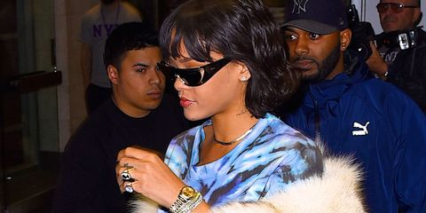 69cd33b8b607 Rihanna Designed 24-Karat Gold Sunglasses for Dior - Rihanna Dior ...