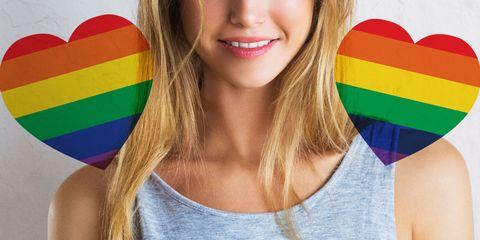 Lip, Fun, Colorfulness, Beauty, Tooth, Blond, Brown hair, Eyelash, Tan, Long hair,
