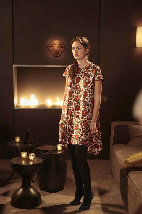 Clothing, Lighting, Shoulder, Dress, Room, Standing, Beauty, Fashion, One-piece garment, Lamp,