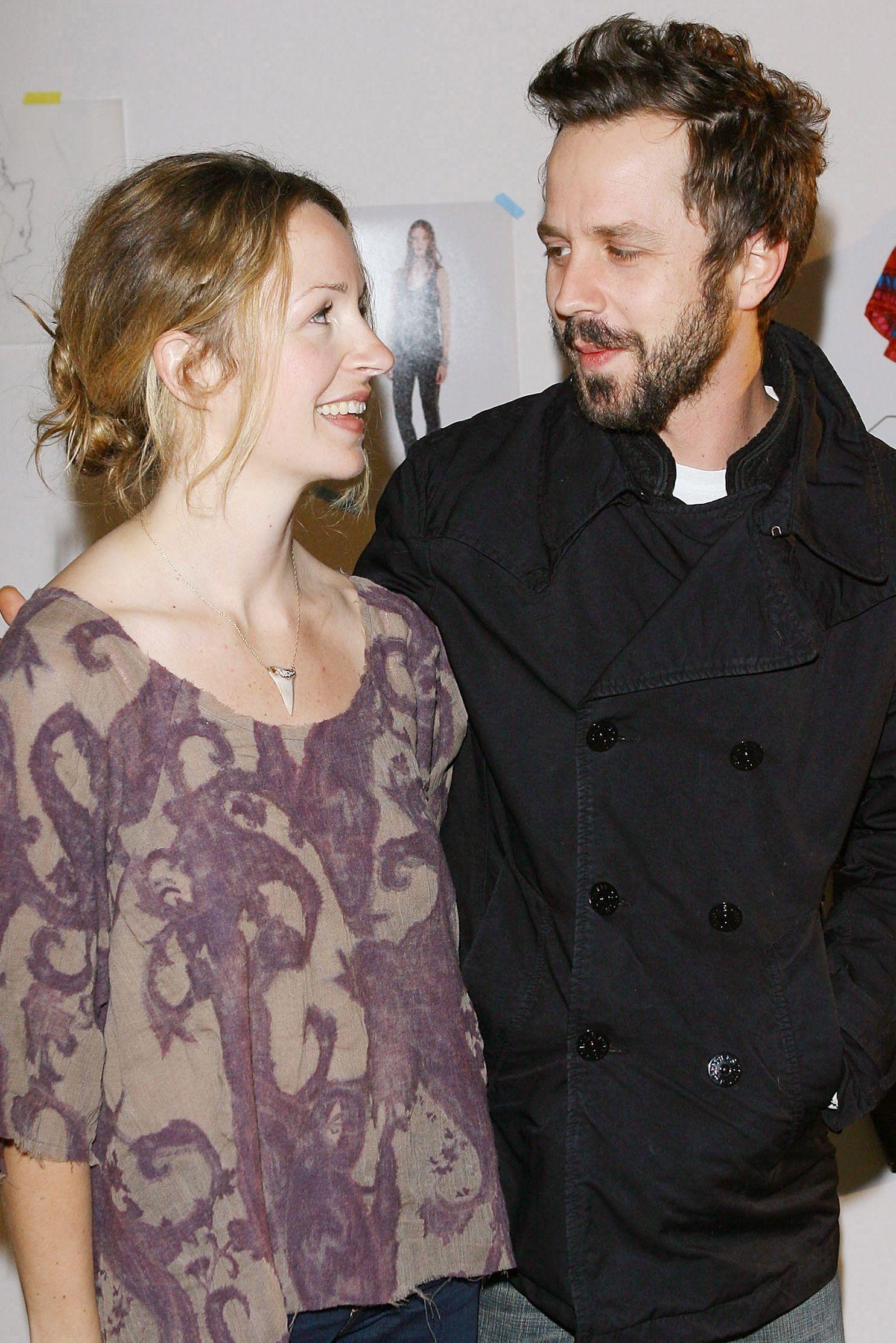 Marissa and Giovanni Ribisi