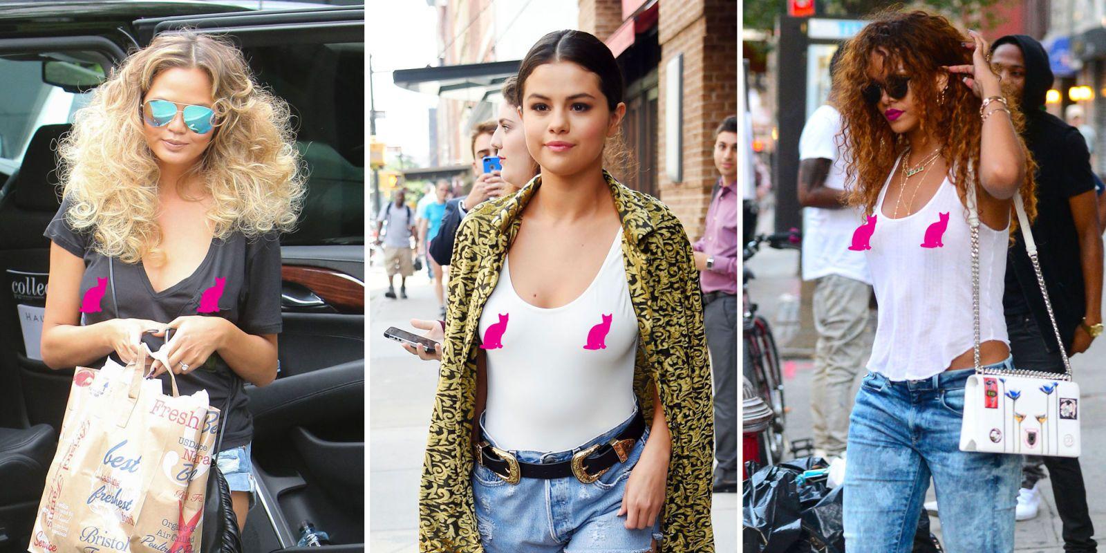 CAROLE: Hollywood busty nipples