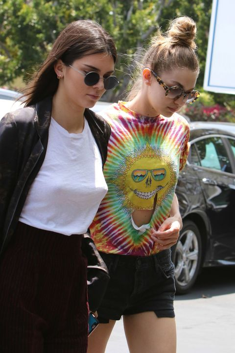 Kendall Jenner's Nipples and Gigi Hadid's Abs Have an Outing in L.A.