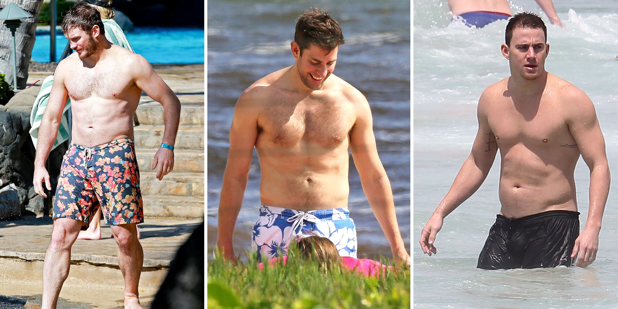 Dad bods are trending online and weve collected 40 photos
