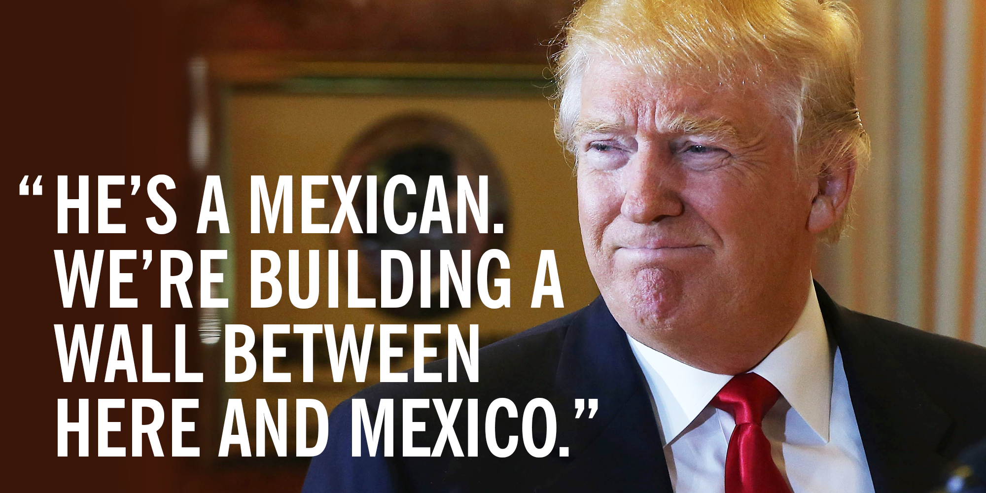 Donald Trump Racist Quotes Donald Trump Is Racist  Trump's Remarks About Trump University