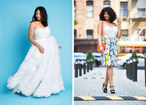 5a84b99b1b1 10 Stunning Ways to Rewear Your Wedding Dress