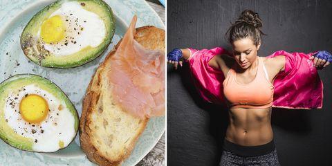 exercise-breakfast