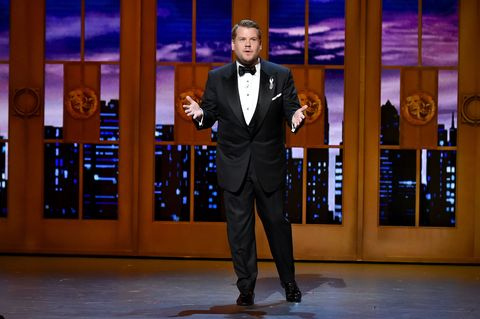 Host James Corden Opens the 2016 Tony Awards With a Message About the Orlando Shooting