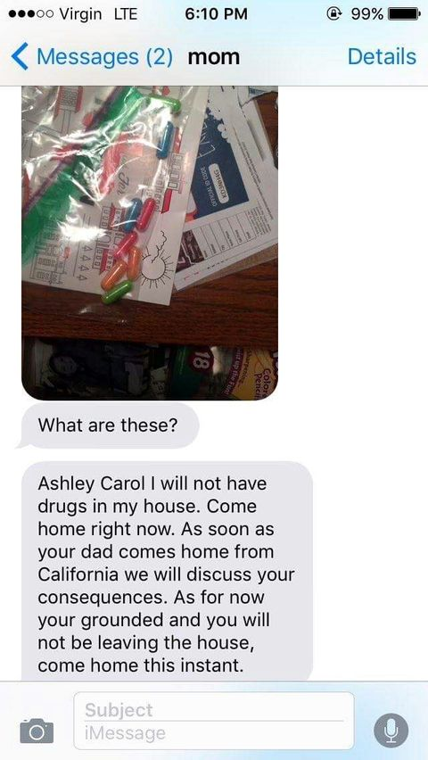 """Mom Makes Hilarious Mistake After Finding """"Drugs"""" In Her Daughter's Bedroom"""