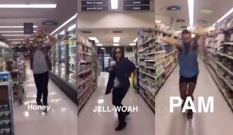 This Viral Video of People Voguing at the Supermarket Will Make You Believe Adulthood Can Be Fun
