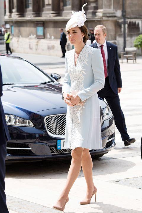 Trousers, Coat, Automotive design, Dress, Outerwear, Grille, Car, Suit, Style, Fashion,