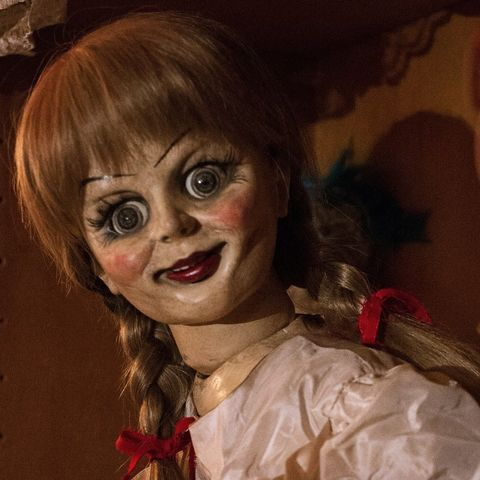 Face, Head, Eye, Lip, Mouth, Fiction, Smile, Fictional character, Costume, Doll,