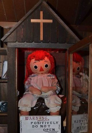 An Encounter With Annabelle, the Real-Life Haunted Doll From 'The