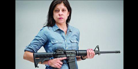 Gun, Firearm, Collar, Shooting, Air gun, Machine gun, Shotgun, Gun barrel,