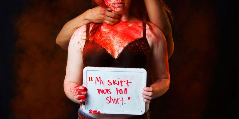These Moving Portraits Show the Victim-Blaming Statements Rape Survivors Hear