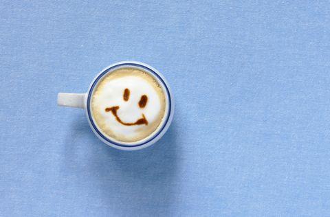 Cup, Drink, Coffee, Ingredient, Circle, Beige, Coffee milk, Drinkware, Tan, Single-origin coffee,