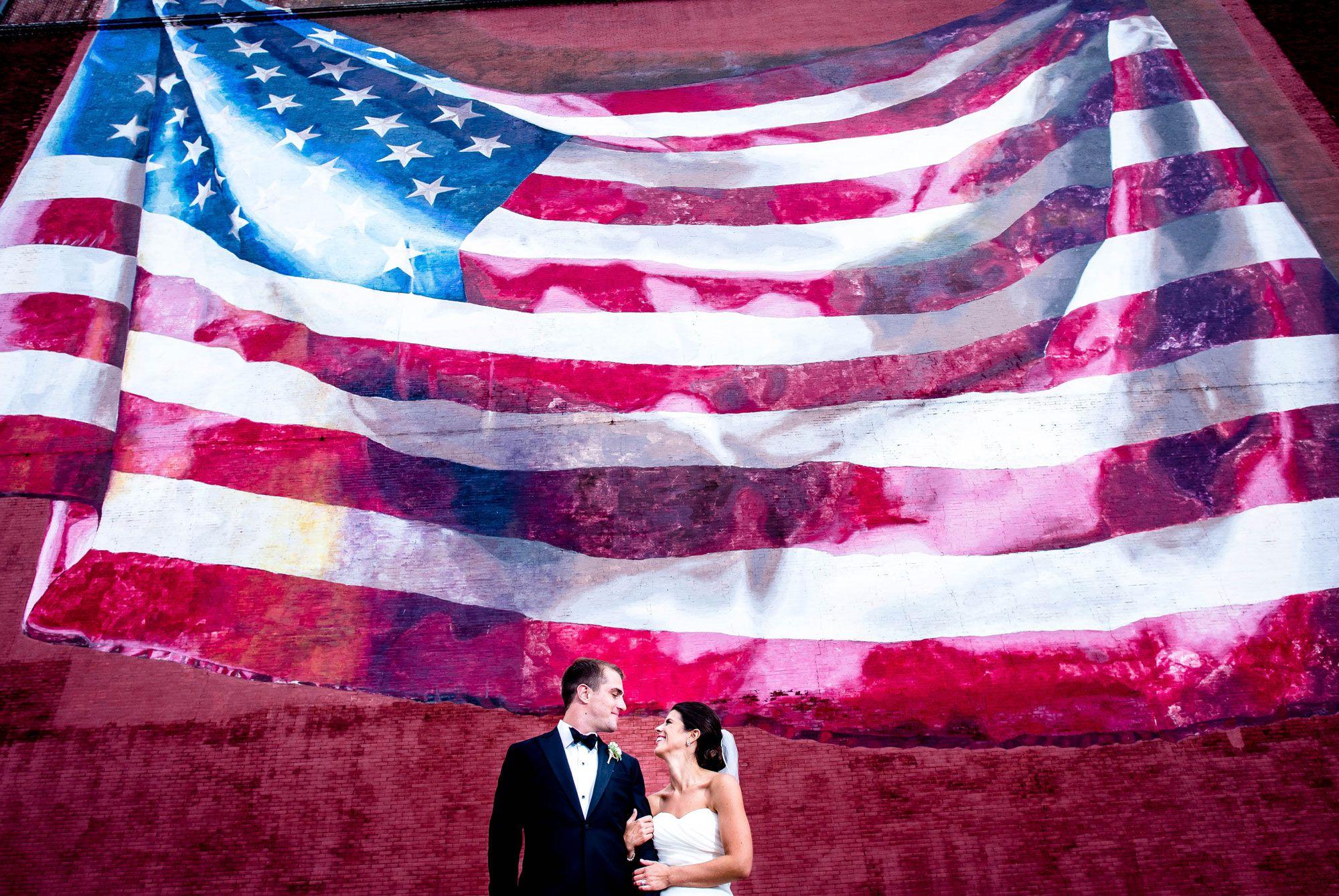 Fourth of July Wedding Ideas - Patriotic Themed Wedding
