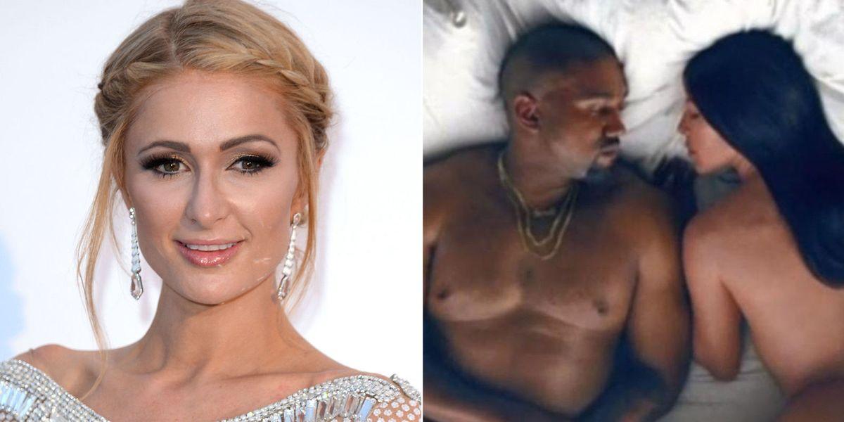 Paris Hilton Reminds Kanye West Who Made Kim Kardashian -4506
