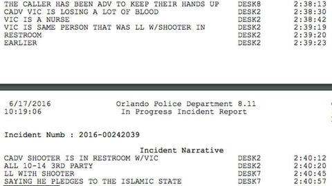 Orlando Shooting 911 Call Logs Released More Terrifying Details
