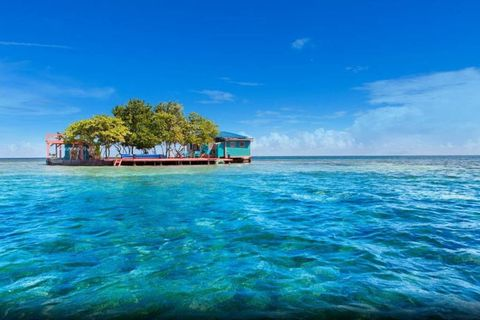 """<p>Tourist traps aren't your thing? That's alright, you can just rent your own private island. Bird Island is just off the coast of Belize, and comes with a fully stocked pantry, paddle boats, a barbecue pit and kayaks. If peace and quiet is your thing, this is the place to stay.</p><p>Rent it <a href=""""https://www.airbnb.com/rooms/4869137?"""" target=""""_blank"""">here</a>. </p>"""